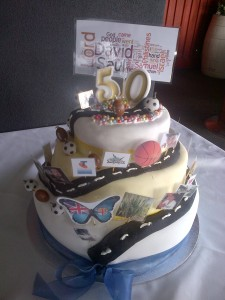 50 th Birthday cake