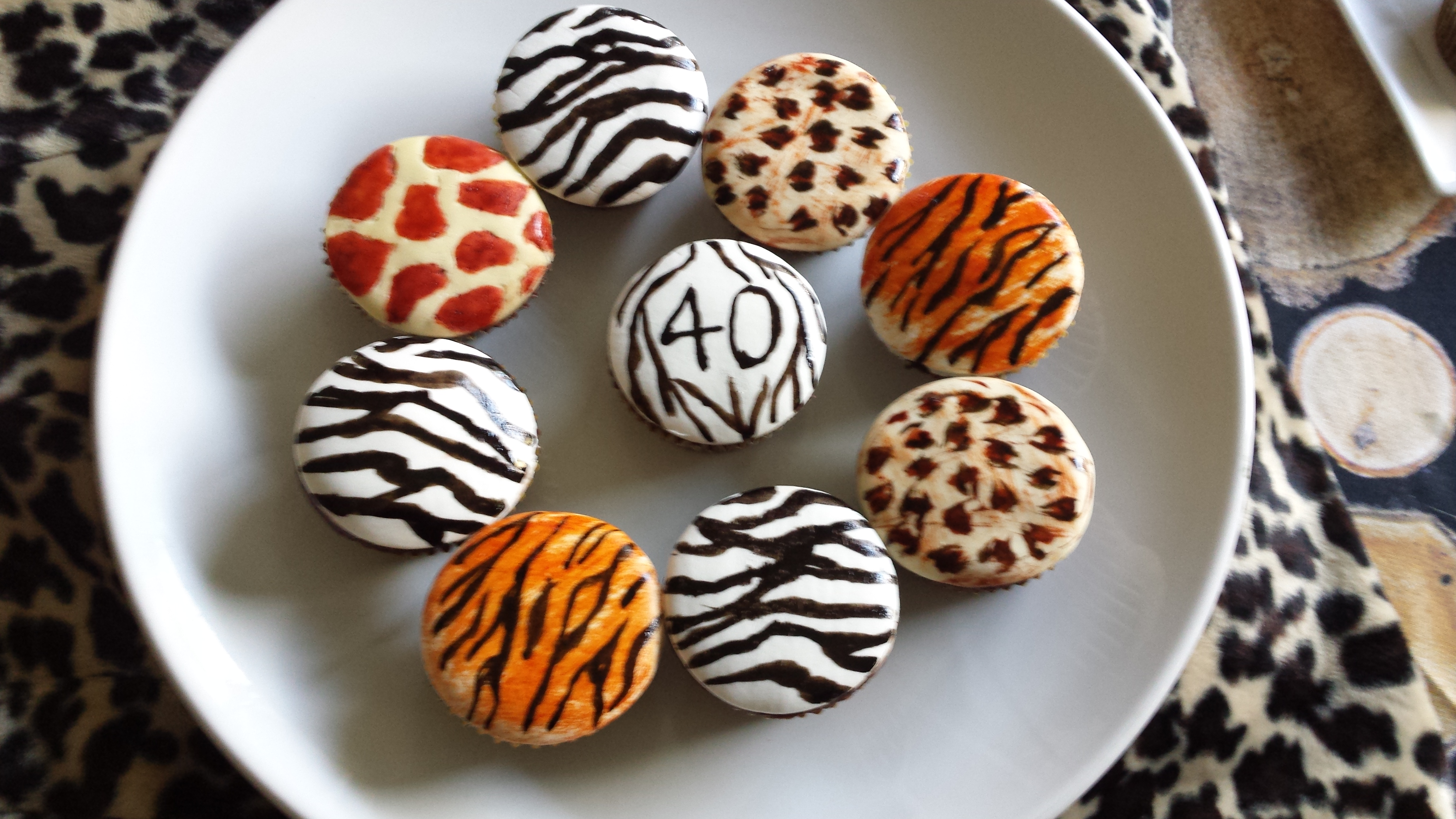 animal print cupcakes mindy belle