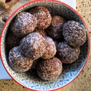 Chocolate truffles image